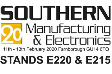 SOUTHERN MANUFACTURING 2020 STANDS E220 & E215