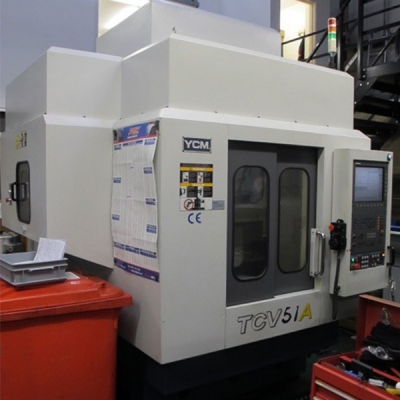 Used YCM TCV51A Twin Pallet
