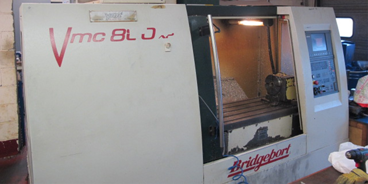 Used Bridgeport VMC800