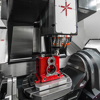 Flexible 5 Axis Machining Centres From Hedelius