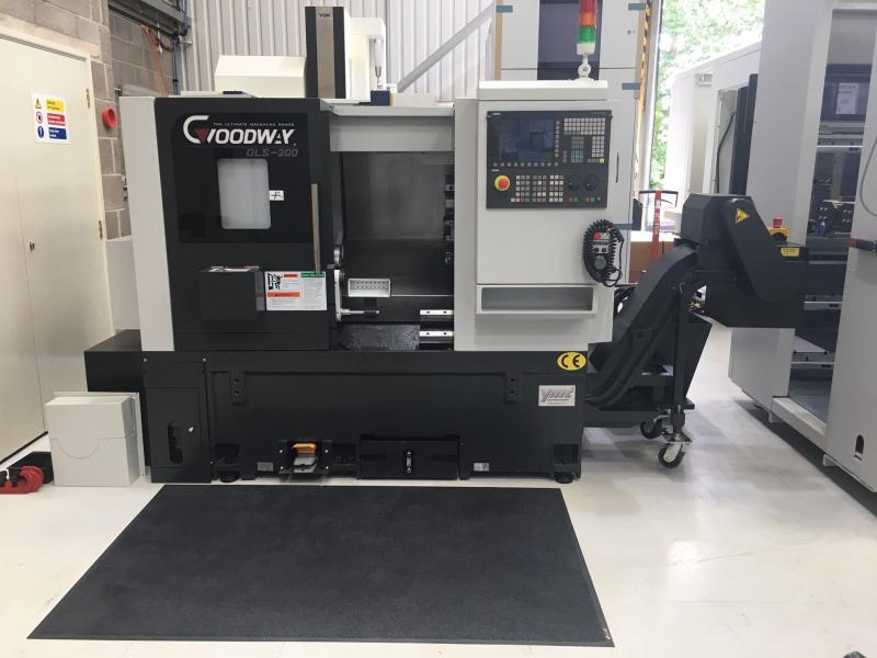 Ex loan Goodway GLS200 CNC Turning Centre, now available!