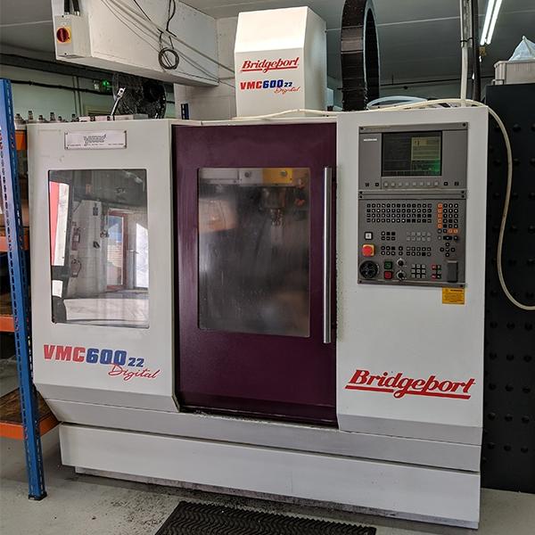 Used Bridgeport VMC600