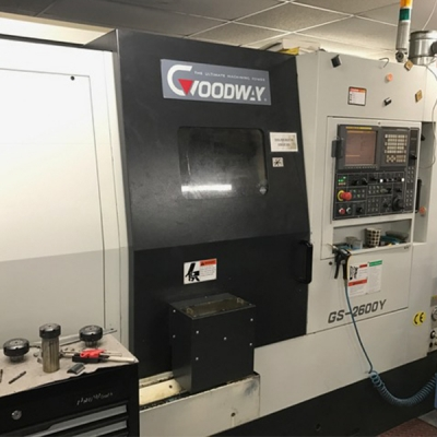 Used Goodway GS2600YS