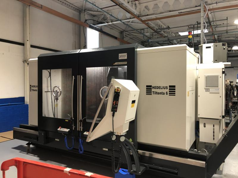 An amazing used Hedelius T6 machining centre